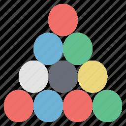 billiard, billiard balls, billiard game, snooker, snooker balls, sports icon