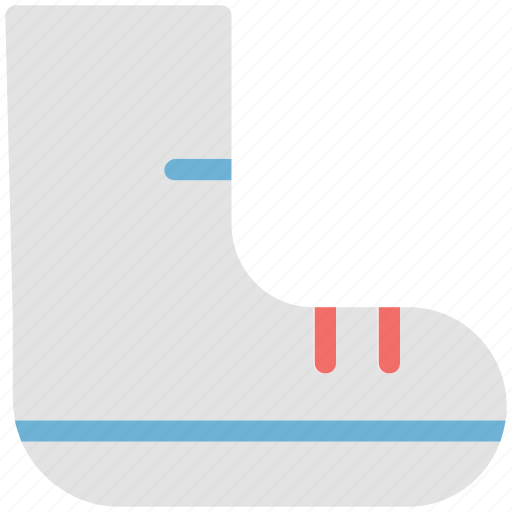 ice skates, shoes, skating shoes, socks, sports accessories icon