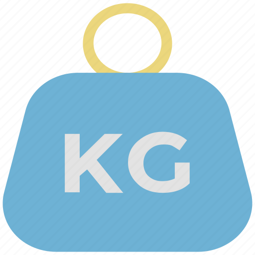 kg, kg weight, kilogram, kilogram weight, weight tool icon