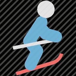 ice skating, skateboard, skateboarding, skating, sports icon