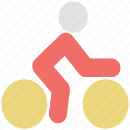 bicycle, cycle, cycle race, cycling, cyclist, exercise icon