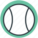 ball, baseball, cricket ball, sports, sports ball icon