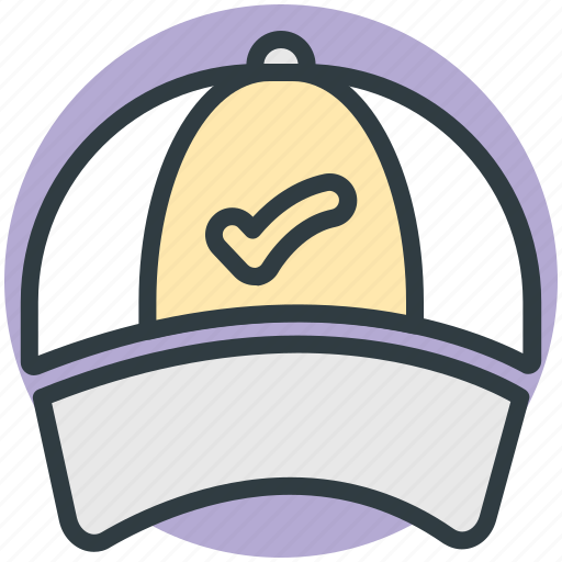 baseball cap, cap, cricket cap, sports cap, trucker cap icon