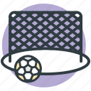 football goal post, football net, goal, goal net, soccer net icon