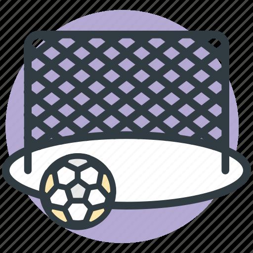 football goal post, football net, goal, goal net, soccer net icon