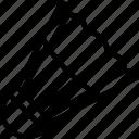 badminton, equipment, shuttlecock, sport icon