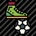 ball, foot, football, sport