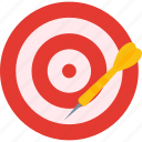 darts, equipment, sports, target icon