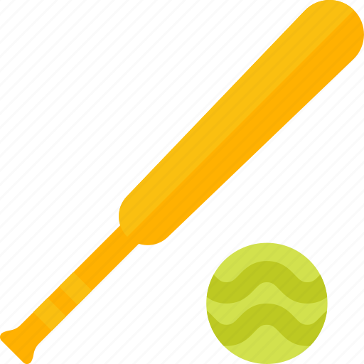 ball, baseball, bat, equipment, sports icon