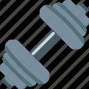 dumbbell, equipment, power, sports