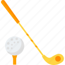 club, equipment, golf, sports icon