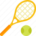 ball, equipment, racket, sports, tennis