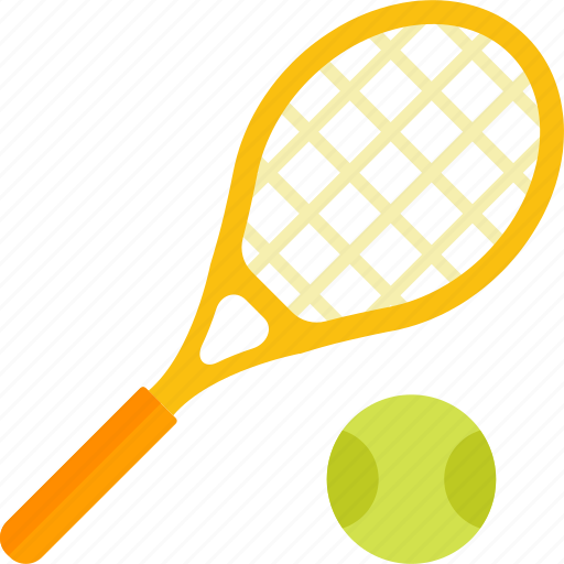 Ball, equipment, racket, sports, tennis icon - Download on Iconfinder