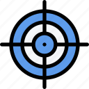 aim, equipment, gym, training, sport icon