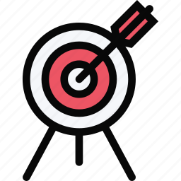 aim, arrow, equipment, gym, sport, training icon
