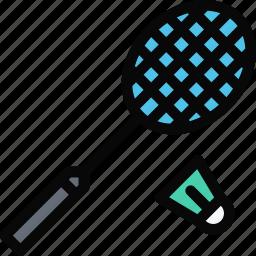 badminton, equipment, gym, sport, training icon