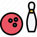 bowling, equipment, gym, sport, training icon
