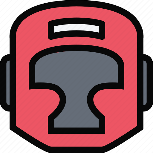 boxing, equipment, gym, helmet, sport, training icon