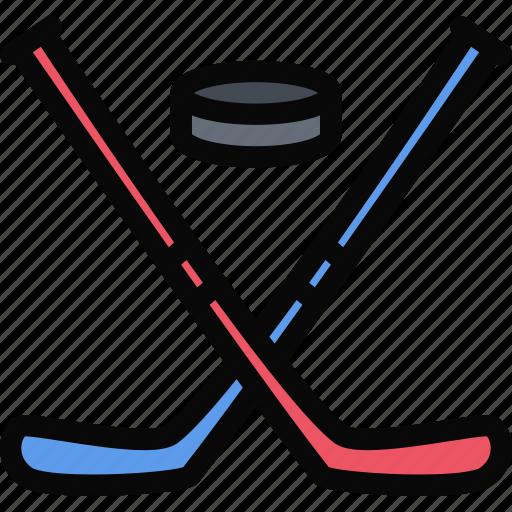 equipment, gym, hockey, sport, training icon