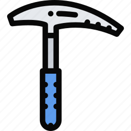 axe, equipment, gym, ice, sport, training icon