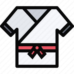 equipment, gym, karate, sport, training icon