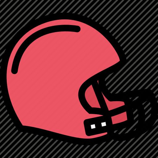 equipment, gym, helmet, rugby, sport, training icon