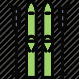 equipment, gym, skiing, sport, training icon