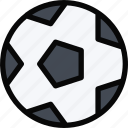 ball, equipment, gym, soccer, sport, training icon