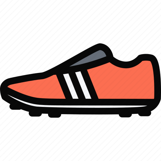 equipment, gym, shoes, soccer, sport, training icon