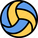 equipment, gym, sport, training, volleyball icon