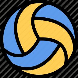 equipment, gym, sport, training, volleyball icon