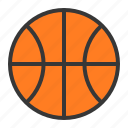 ball, basketball, sport, sports, sports equipment icon