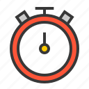clock, sport, sports, sports equipment, time icon