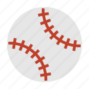 ball, baseball, sport, sports equipment icon