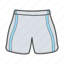 clothes, shorts, sportswear, trunks, uniform, wear icon