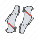 boot, cleats, foot, footwear, shoe, soccer boot, uniform icon