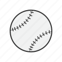 ball, baseball, equipment, game, sport