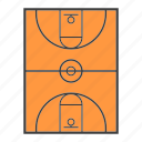 arena, basketball, court, field, gym, sport, stadium icon