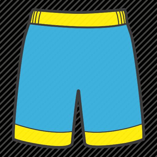 clothes, shorts, sportswear, trunks, uniform, wear icon