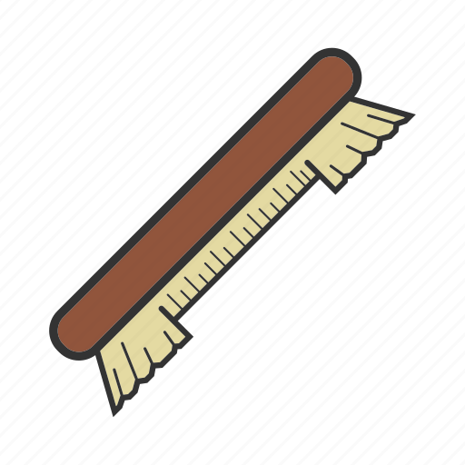 billiard, brush, equipment, pool, snooker, table brush, tool icon