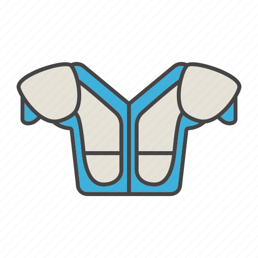 american football, clothes, padding, protection, sportswear, suit, uniform icon