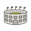 arena, game, match, sport, stadium icon