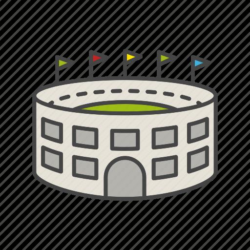 arena, game, match, sport, stadium icon