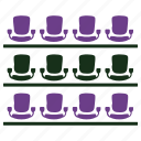 audience seats, community, crowd, group, stadium seats icon