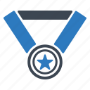 award, gold medal, winner icon