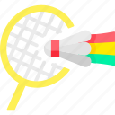 badminton, game, play, sport, sports icon