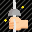 blade, cut, fencing, knife, sword, war icon