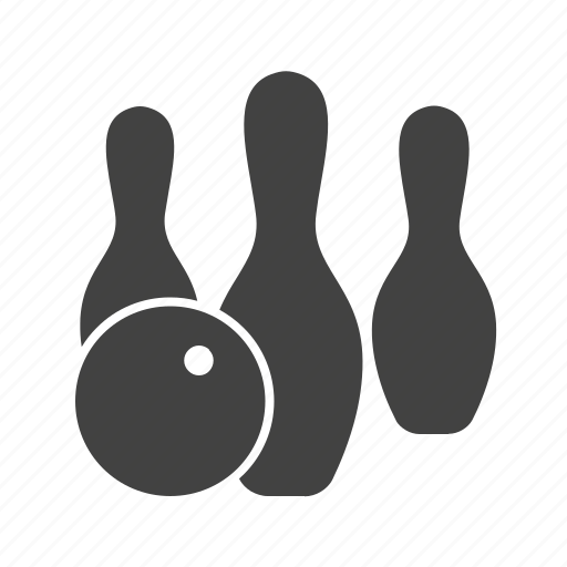 ball, bowl, bowling, pins, play, sport, throw icon