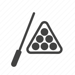 activity, balls, billiard, game, pool, snooker, stick icon