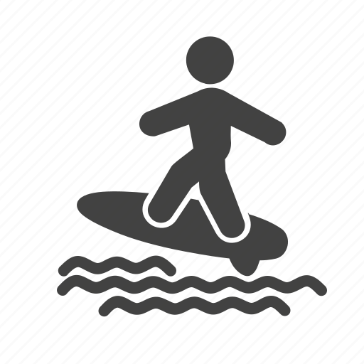 Activity, sport, surf, surf board, surfer, surfing board, water icon - Download on Iconfinder